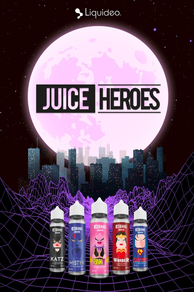 Caisson Lumineux Juice Heroes