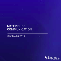 Catalogue PLV Mars 2019
